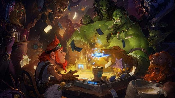 Hearthstone: Heroes of Warcraft - Offener Betatest startet in Nordamerika. Hearthstone: Heroes of Warcraft Online-Kartenspiel für PC, OS X und iOS (Quelle: Blizzard)
