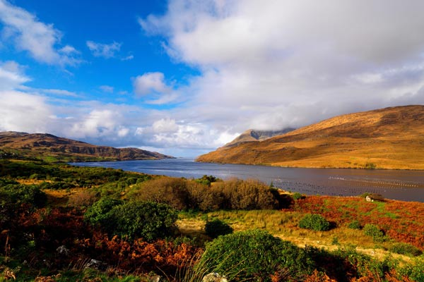 Killary Harbour: Irlands einziger Fjord. (Quelle: dpa/tmn/Tourism Ireland/Chris Hill)