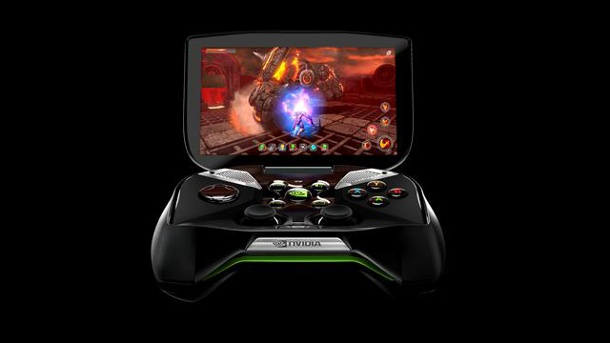 "Nvidia Shield: Handheld-Konsole ""Shield"" erst im Juli spruchreif. Nvidia Project Shield (Quelle: Nvidia)"