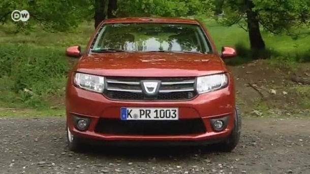 Dacia Sandero im Test (Screenshot: Deutsche Welle)