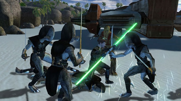Star Wars: Knights of the Old Republic fürs iPad erschienen. Star Wars: Knights of the Old Republic (Quelle: Bioware)