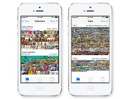 Bildersammlungen in iOS 7 (Quelle: Apple)