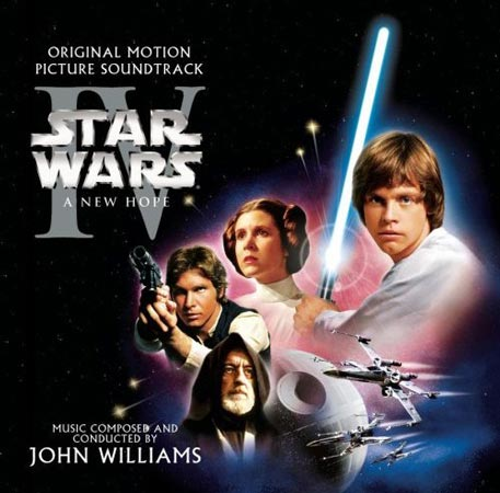 "Soundtracks der 1970er Jahre: ""Star Wars"" (Quelle: Label)"