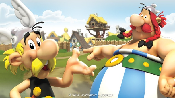 Browsergame Asterix & Friends im Test: Online Römer verkloppen. Asterix & Friends (Quelle: Gamesload)