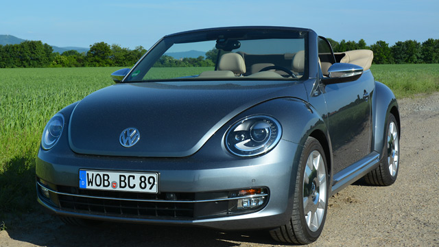 vw beetle cabrio der sympathische luftikus. Black Bedroom Furniture Sets. Home Design Ideas