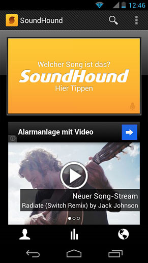 SoundHound (Quelle: Google Play Store)