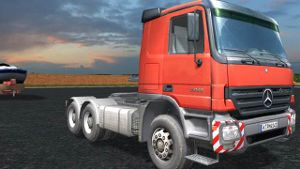Schwertransport Simulator (Bild: UIG Entertainment)