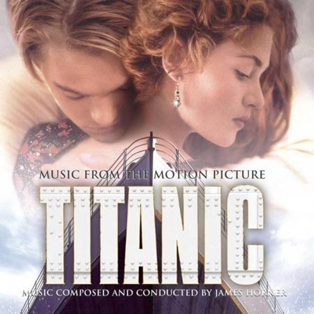 "Soundtracks der 1990er Jahre: ""Titanic"" (Quelle: Label)"