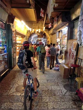 Radurlaub in Israel: Bike Night Jerusalem. (Quelle: Susanne Ewald)