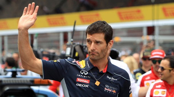 Mark Webber verlässt Red Bull - kommt jetzt Kimi Räikkönen?. Nach sechs Jahren verlässt Mark Webber zum Ende der Saison das Red-Bull-Team. (Quelle: imago/Crash Media Group)