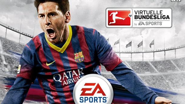 Fifa 14: Real Madrid ist beliebter als FC Barcelona. Fifa 14-Cover mit Lionel Messi (Quelle: EA Sports)