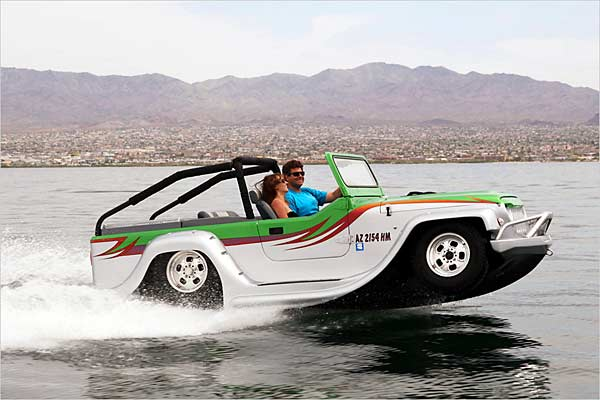 Panther von Watercar (Quelle: Auto News)