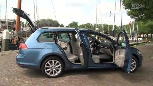 Neuer Golf 7 Variant (Screenshot: United Pictures TV)