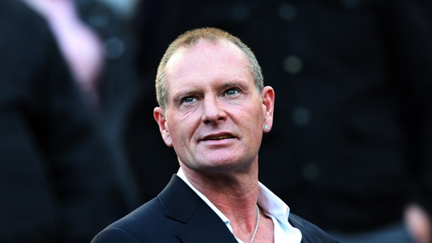 Paul Gascoigne attackiert Ex-Frau und Polizisten. Wieder in den Schlagzeilen: Ex-Nationalspieler Paul Gascoigne. (Quelle: picture alliance/AP-Photo)
