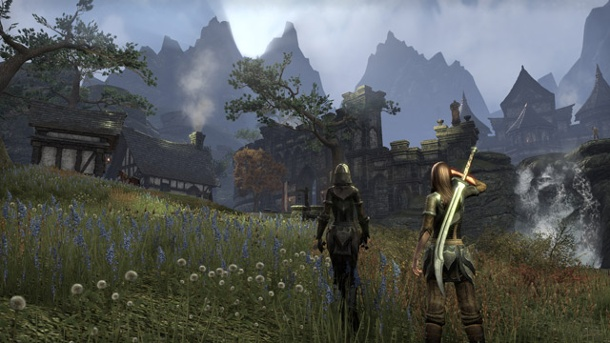 "The Elder Scrolls Online: ""Cross-Plattform ist ein Albtraum"". The Elder Scrolls Online (Quelle: Bethesda)"
