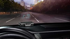 Garmin zeigt Head-Up-Display zum Nachrüsten
