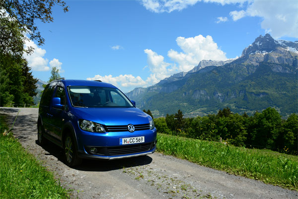 VW Cross Caddy (Quelle: t-online.de)