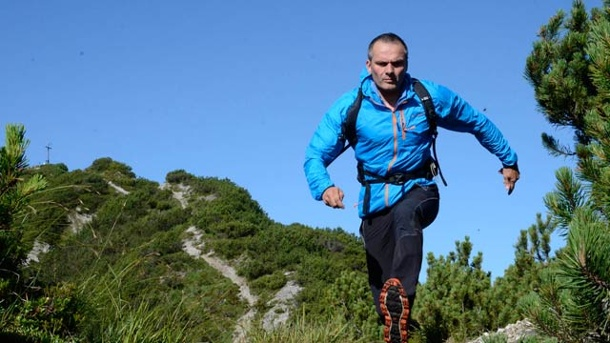 Trail Running, Speed Hiking, Berglauf: Wandern war gestern.  Trail Running, Speed Hiking, Berglauf. (Quelle: Thomas Bucher)