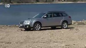 Der Subaru Outback Kombi im Test (Screenshot: Deutsche Welle)