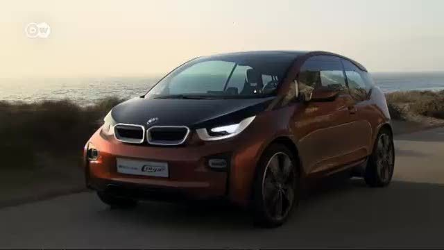 Der BMW i3 Concept eDrive (Screenshot: Deutsche Welle)