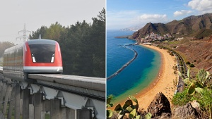 Teneriffa will den Transrapid