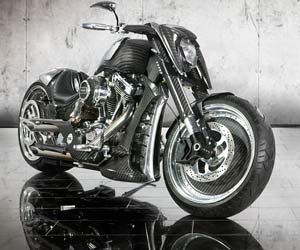 Custom Bike: Mansory-Bike Zapico. Deutsches Custom Bike: Mansory Zapico (Quelle: Hersteller)