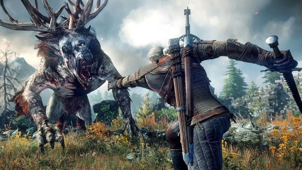 """The Witcher 3: Wild Hunt"": Die neue Größe des Hexers. The Witcher 3: Wilde Jagd (Quelle: CD Projekt Red)"