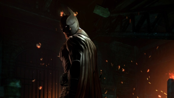 Batman Arkham Origins: Die Fledermaus in Not. Batman: Arkham Origins Action-Adventure von WB Games für PC, PS3, Xbox 360 und Wii U (Quelle: WB Games)