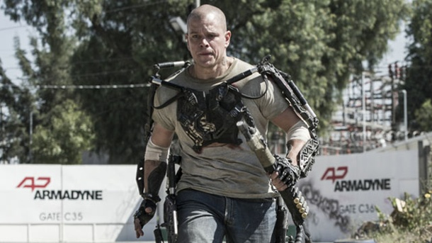 ". ""Elysium"": Visuell beeindruckender Science-Fiction-Kracher mit Matt Damon"