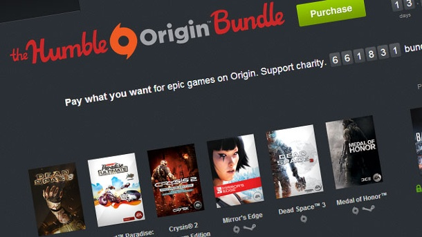 Humble Origin Bundle sammelt mehr als 10 Millionen Dollar ein. Humble Origin Bundle (Quelle: Humble Bundle )