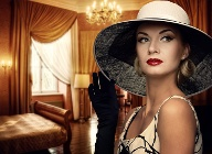 Make-up Trends: Der Herbst wird elegant und farbenfroh. (Quelle: Thinkstock by Getty-Images)