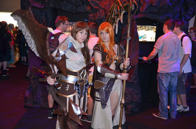 Cosplayer auf der Gamescom 2013 in Köln (Quelle: t-online.de)