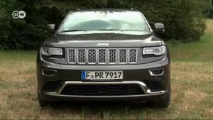 Jeep Grand Cherokee im Test (Screenshot: Deutsche Welle)