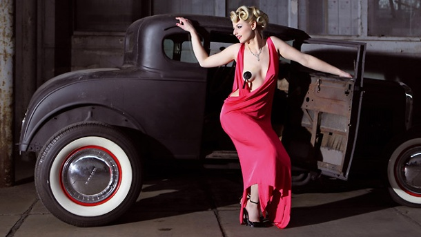 """Girls & legendary US-Cars"": Neuer Kalender . ""Girls & legendary US-Cars"" (Quelle: Hersteller)"