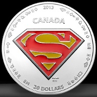 Super-Silbermünze aus Kanada (Quelle: Royal Canadian Mint)
