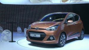 Hyundai i10 auf der IAA (Screenshot: Car News)