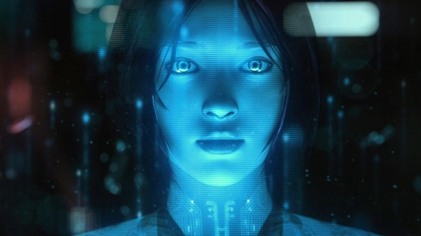 Microsofts Siri-Klon: Kommt Halo-Kunstfigur auf Windows Phones? . Cortana in Halo 4 (Quelle: Microsoft)