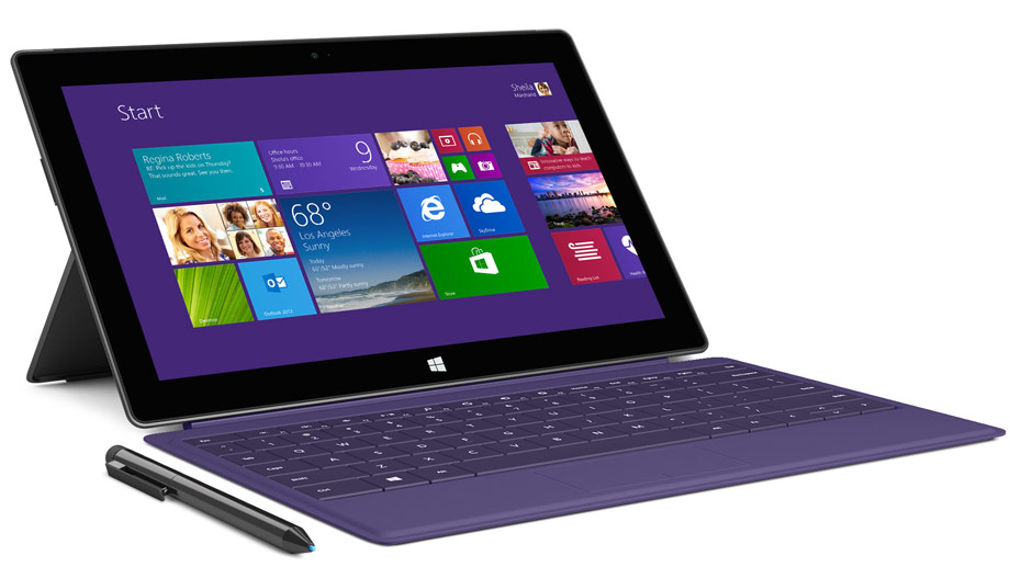 Microsoft Surface Pro 2 in Lila (Quelle: Hersteller)