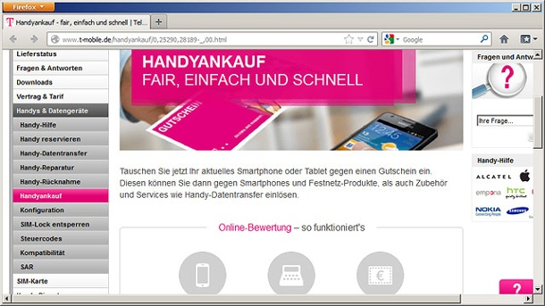 handy deutsche telekom bietet ankauf alter mobiltelefone an. Black Bedroom Furniture Sets. Home Design Ideas