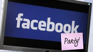 Facebook-Party (Quelle: imago/blickwinkel)