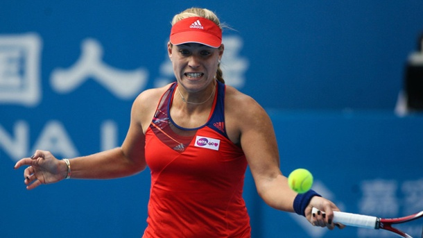 China Open: Angelique Kerber scheidet gegen Agnieszka Radwanska aus. Angelique Kerber ist im Viertelfinale der China Open ausgeschieden. (Quelle: imago/China Foto Press)