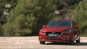 Mazda 3 bietet VW Golf Paroli (Screenshot: Deutsche Welle)