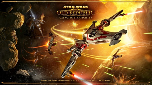Star Wars: The Old Republic - Galactic Starfighter-Erweiterung angekündigt. Star Wars: The Old Republic - Galactic Starfighter (Quelle: Electronic Arts)