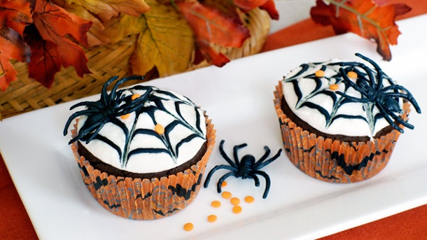 halloween muffins dekorationsideen zum f rchten. Black Bedroom Furniture Sets. Home Design Ideas