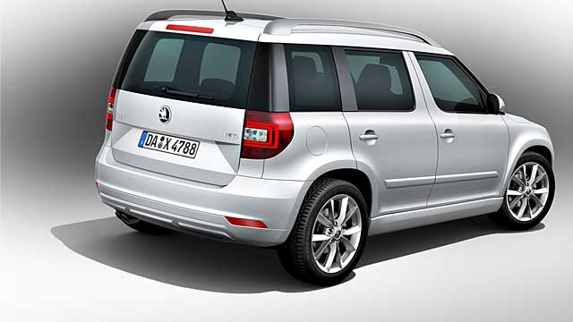 skoda yeti facelift preise sind da kleines suv wird teurer. Black Bedroom Furniture Sets. Home Design Ideas