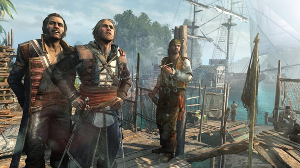 """Assassin's Creed 4: Black Flag"" im Test: Schöne, neue Piratenwelt. Assassin's Creed 4: Black Flag Action-Adventure von Ubisoft für PC, PS3, Xbox 360, Wii U, PS4 und Xbox One (Quelle: Ubisoft)"