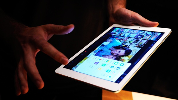 iPad Air im Test: Was kann Apples neues Super-Tablet?. Apple iPad Air. (Quelle: dpa)