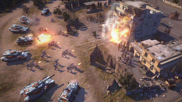 "Electronic Arts zieht ""Command & Conquer"" den Stecker. Electronic Arts legt Command & Conquer auf Eis. (Quelle: Electronic Arts)"