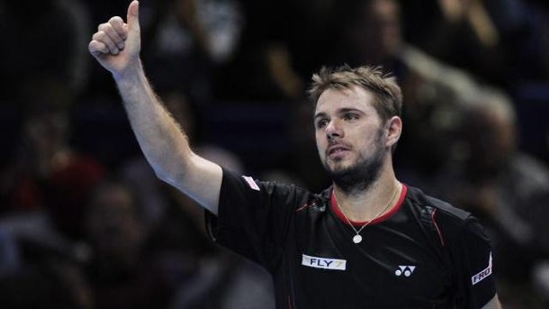 Tennis-WM in London: Stanislas Wawrinka bezwingt Thomas Berdych. Auftaktsieg für Stanislas Wawrinka in London.