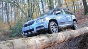 Skoda Yeti 4x4 im Test (Screenshot United Pictures)